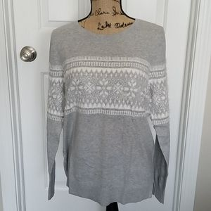 Loft Fair Isle Sweater - NWT
